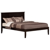 Madison Traditional Bed with Open Footrails - Espresso Madison Traditional Bed with Open Footrails - Espresso