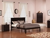 Madison Traditional Bed with Open Footrails - Espresso - AR86X1031
