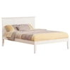 Madison Traditional Bed with Open Footrails - White Madison Traditional Bed with Open Footrails - White
