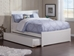 Metro Platform Bed with Matching Footboard - White - AR90X6X12