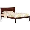 Metro Platform Bed with Open Footrails - Antique Walnut - AR90X1004