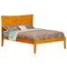 Metro Platform Bed with Open Footrails - Caramel Latte - AR90X1007