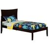 Metro Platform Bed with Open Footrails - Espresso - AR90X1001