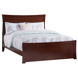 Metro Traditional Bed with Matching Footboard - Antique Walnut Metro Traditional Bed with Matching Footboard - Antique Walnut