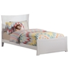 Metro Traditional Bed with Matching Footboard - White Metro Traditional Bed with Matching Footboard - White
