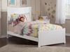 Metro Traditional Bed with Matching Footboard - White - AR90X6032