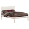 Metro Traditional Bed with Open Footrails - White Metro Traditional Bed with Open Footrails - White