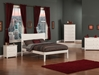 Metro Traditional Bed with Open Footrails - White - AR90X1032