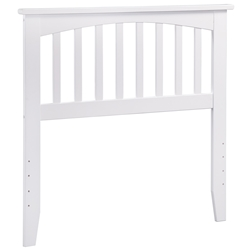 Mission Headboard - White Mission Headboard - White