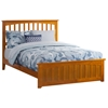 Mission Traditional Bed with Matching Footboard - Caramel Latte - AR87X6037