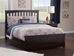 Mission Traditional Bed with Matching Footboard - Espresso - AR87X6031