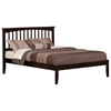 Mission Traditional Bed with Open Footrails - Espresso Mission Traditional Bed with Open Footrails - Espresso