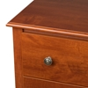 Monterey 2-Drawer Tall Nightstand - Cherry CDC-2428 - CDC-2428