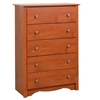 Monterey 5-Drawer Chest - Cherry CDC-3345-K Monterey 5-Drawer Chest - Cherry CDC-3345-K