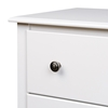 Monterey 5-Drawer Chest - White WDC-3345-K - WDC-3345-K