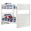 Nantucket Full/Full Bunk Bed - White AB59502 Nantucket Full/Full Bunk Bed - White AB59502