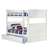 Nantucket Full/Full Bunk Bed - White AB59502 - AB59502