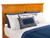 Nantucket Platform Bed with Flat Panel Footboard - Caramel Latte - AR82X2X17