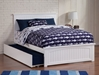 Nantucket Platform Bed with Matching Footboard - White - AR82X6X12