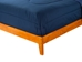 Nantucket Platform Bed with Open Footrails - Caramel Latte - AR82X1007