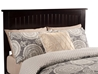 Nantucket Platform Bed with Open Footrails - Espresso - AR82X1001