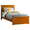 Nantucket Traditional Bed with Matching Footboard - Caramel Latte Nantucket Traditional Bed with Matching Footboard - Caramel Latte