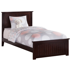 Nantucket Traditional Bed with Matching Footboard - Espresso Nantucket Traditional Bed with Matching Footboard - Espresso