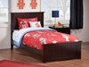 Nantucket Traditional Bed with Matching Footboard - Espresso - AR82X6031