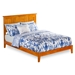 Nantucket Traditional Bed with Open Footrails - Caramel Latte - AR82X1037