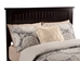 Nantucket Traditional Bed with Open Footrails - Espresso - AR82X1031