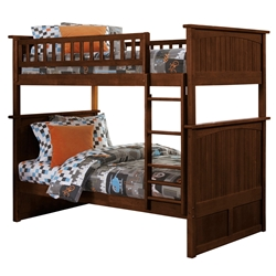 Nantucket Twin/Twin Bunk Bed - Antique Walnut AB59104 Nantucket Twin/Twin Bunk Bed - Antique Walnut AB59104
