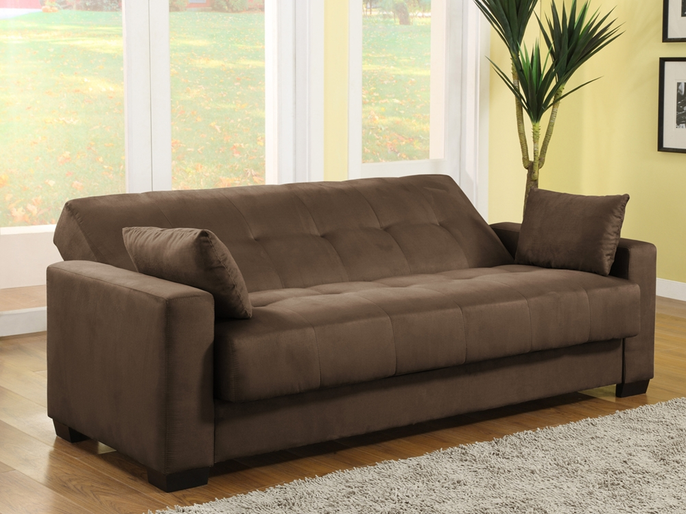 Napa Convertible Sofa Bed Java Ca Npa Jv Set