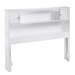 Newport Bookcase Headboard - White - AR2858X2
