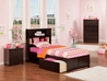 Newport Platform Bed with Flat Panel Footboard - Espresso - AR85X2X11