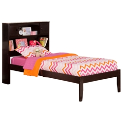 Newport Platform Bed with Open Footrails - Espresso Newport Platform Bed with Open Footrails - Espresso