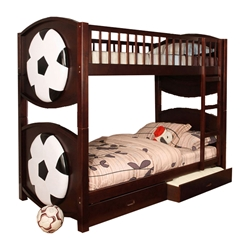 Olympic I Twin/Twin Bunk Bed CM-BK065 Olympic I Twin/Twin Bunk Bed CM-BK065