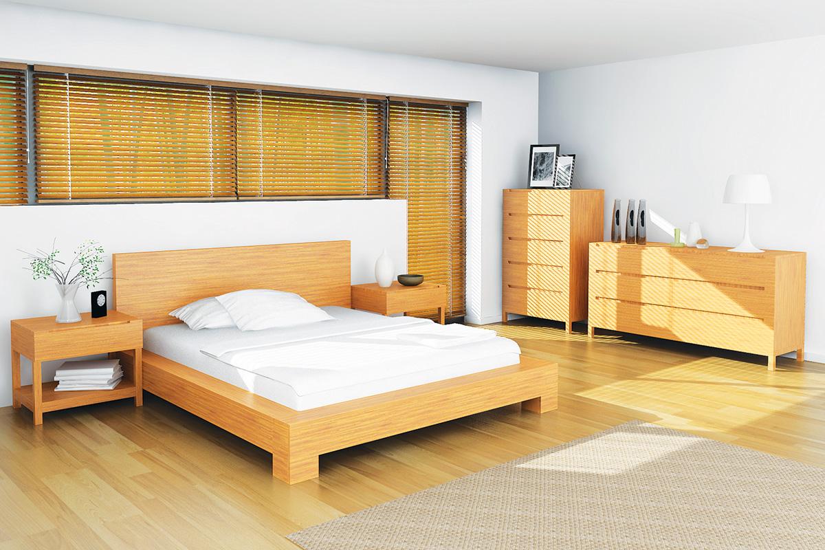 Image of: Orchid Platform Bed Caramel