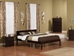Orlando Platform Bed with Open Footrails - Espresso - AR81X1001