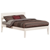 Orlando Platform Bed with Open Footrails - White - AR81X1002