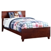 Orlando Traditional Bed with Matching Footboard - Antique Walnut Orlando Traditional Bed with Matching Footboard - Antique Walnut