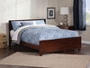 Orlando Traditional Bed with Matching Footboard - Antique Walnut - AR81X6034