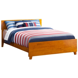 Orlando Traditional Bed with Matching Footboard - Caramel Latte Orlando Traditional Bed with Matching Footboard - Caramel Latte