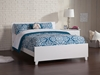 Orlando Traditional Bed with Matching Footboard - White - AR81X6032