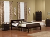 Orlando Traditional Bed with Open Footrails - Espresso - AR81X1031