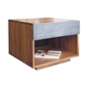 PCH Series 1-Drawer Tall Nightstand PCH.24.24.18 - PCH.24.24.18