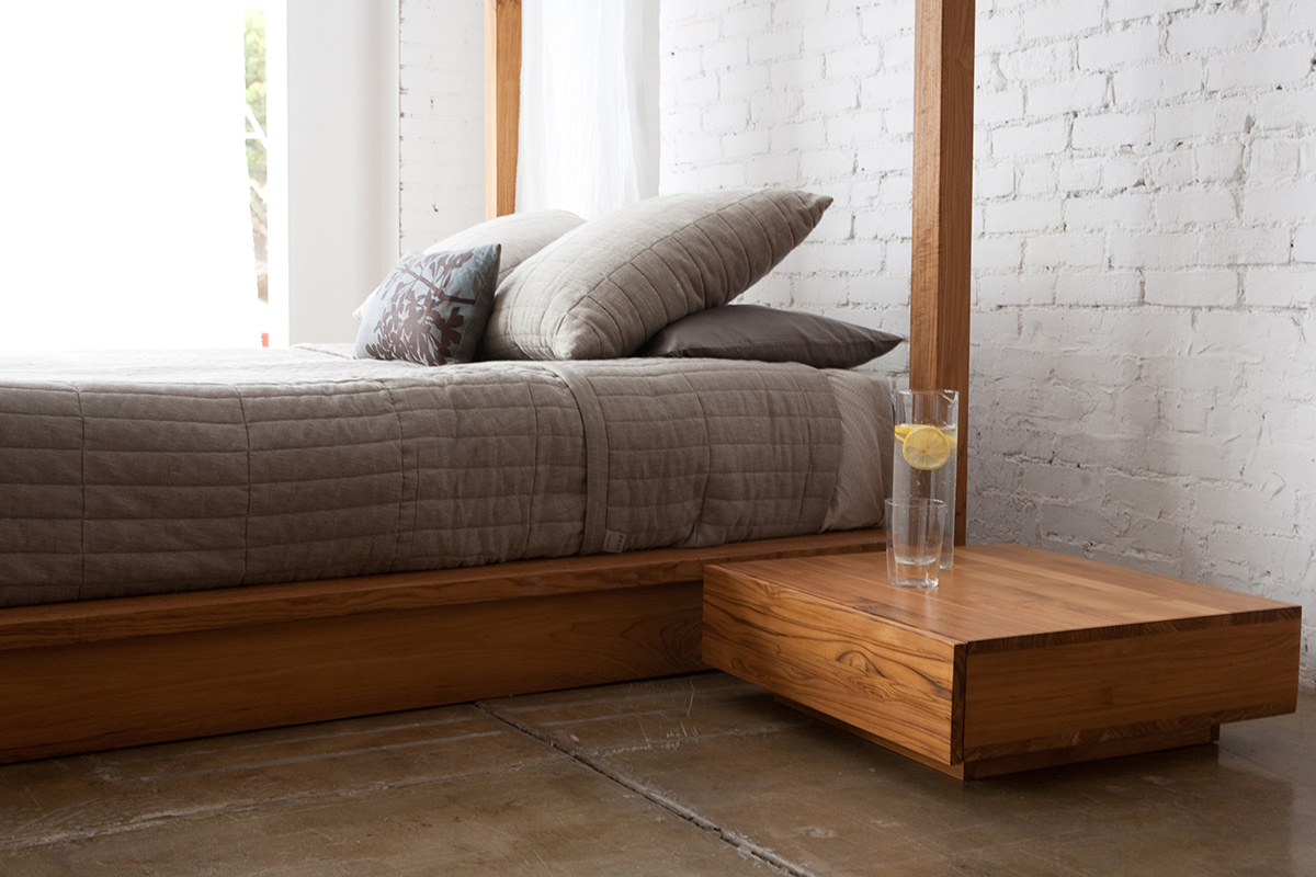 PCH Series Canopy Platform Bed - ... PCH Series Canopy Platform Bed - PCH.99.84.84