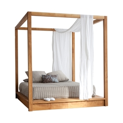 PCH Series Canopy Platform Bed PCH Series Canopy Platform Bed
