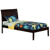 Portland Platform Bed with Open Footrails - Espresso Portland Platform Bed with Open Footrails - Espresso