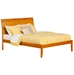 Portland Traditional Bed with Open Footrails - Caramel Latte - AR89X1037