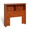 Prepac Bookcase Headboard - Cherry Prepac Bookcase Headboard - Cherry